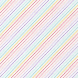 Rainbow Stripe in Rainbow