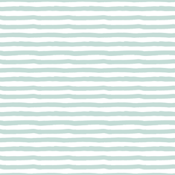 Painted Stripes in Mint Green