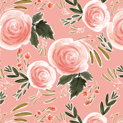 Large Rhapsody Blooms in Rose Pink