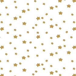 Star Light in Marigold on White