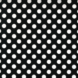 Medium Spots in Black