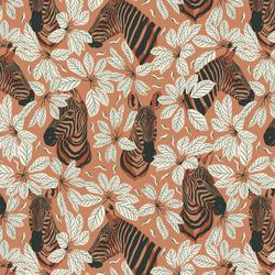 Happy Zebra in Amber Winds