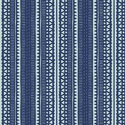 Safari Geometric in Blue