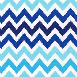 Large Zig Zag Stripe in Surf