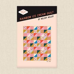 Rainbow Ice Cream Quilt