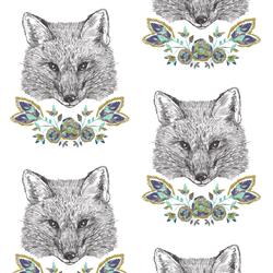 Foxy Loxy in White