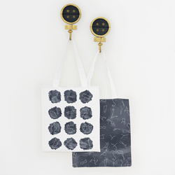 What's Your Sign Tote Panel in Eclipse