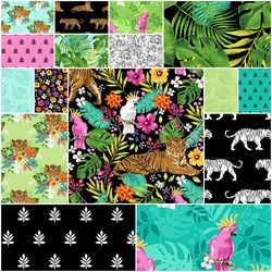 Tiger Tales Fat Quarter Bundle