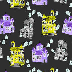 Ghost Hosts in Spooky Black