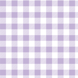 Medium Buffalo Plaid in Lilac