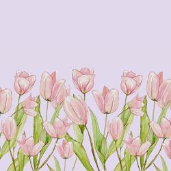 True Romance Double Border in Soft Lilac