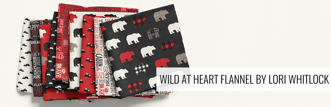 Wild at Heart Flannel by Lori Whitlock