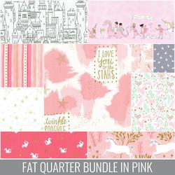 Magic Fat Quarter Bundle in Pink