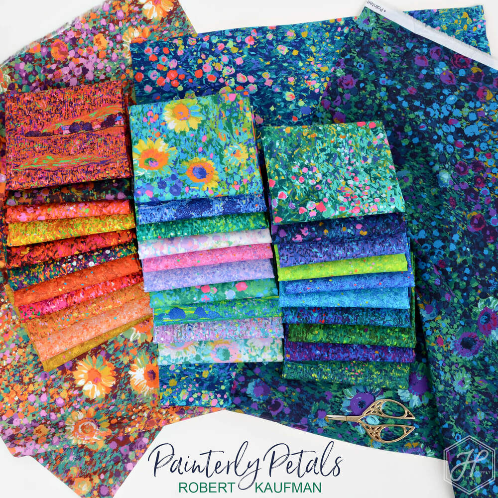 Painterly Petals Poster Image