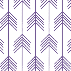 Vanes in Ultra Violet on White