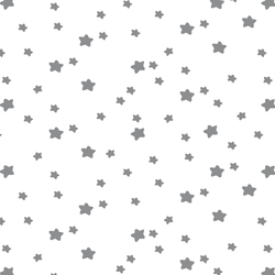 Star Light in Smoke on White