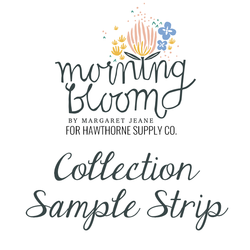 Morning Bloom Sample Strip