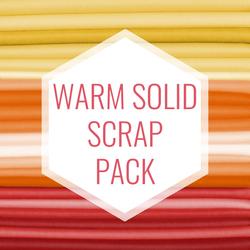 Warm Solid Scrap Pack