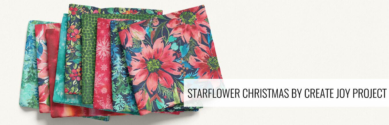 Starflower Christmas by Create Joy Project