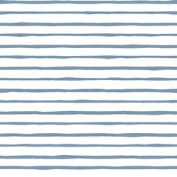 Artisan Stripe in Dusk on White