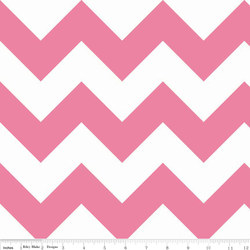Large Chevron in Hot Pink