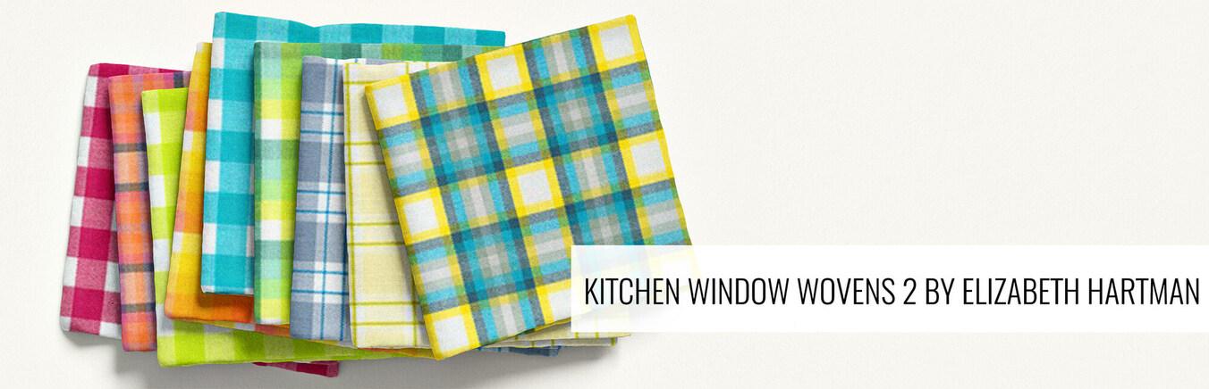 Kitchen Window Wovens 2 by Elizabeth Hartman