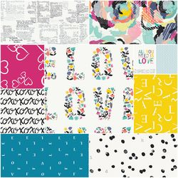 Capsules Letters Fat Quarter Bundle
