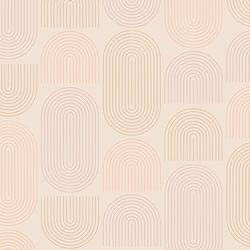 Concentric Fields in Sweet Cream