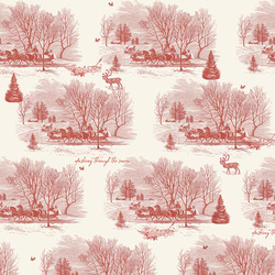 Sleigh Toile in Cream