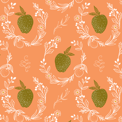 Golden Apple in Coral
