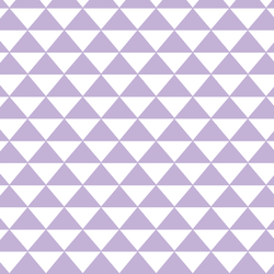 Triangle Mosaic in Lilac