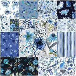 Blue Crush Fat Quarter Bundle