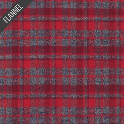 Mammoth Plaid Flannel in Red