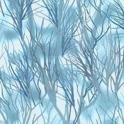 Winter Reeds in Evening