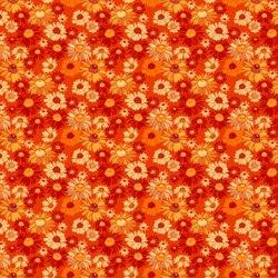 Blooms in Burnt Orange