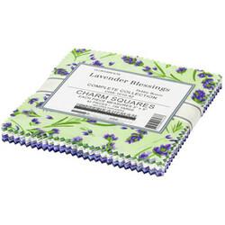 "Flowerhouse Lavender Blessings 5"" Square Pack"
