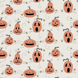 Spooky Pumpkins in Ghoulish