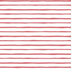 Artisan Stripe in Dahlia on White