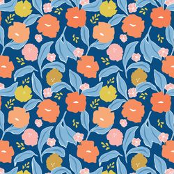 Meadow in Navy Multi