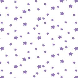 Star Light in Amethyst on White