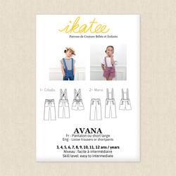 Avana Pants and Shorts - Girls