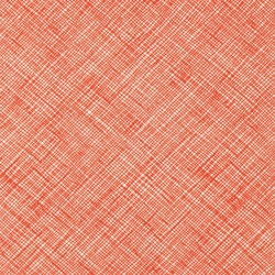 Crosshatch in Tangerine