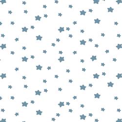 Star Light in Marine on White
