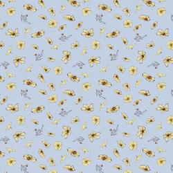 Cosmos in Soft Cornflower