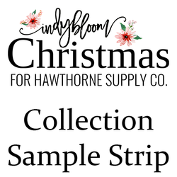 Indy Bloom Christmas Sample Strip