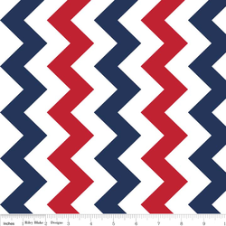 Medium Chevron in Patriotic