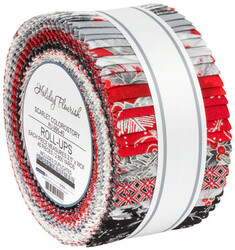 Holiday Flourish 14 Roll Up in Scarlet Colorstory