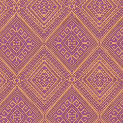 Ethnic Diamond in Lavender