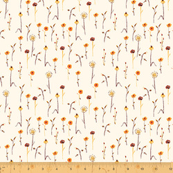Wildflowers in Cream