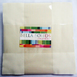 Bella Solids Layer Cake in Snow